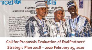 EvalPartners объявляет конкурс для проведения оценки стратегического плана на 2018-2020 годы.